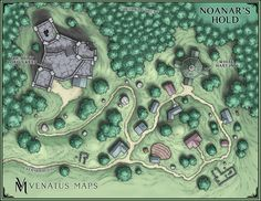 Finished my first map for Storm King's Thunder--Noanar's Hold!