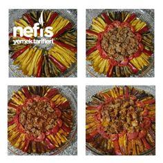 Parmak Kebabı Tarifi – Nefis Yemek Tarifleri Tiramisu, Yogurt, Pineapple, Food And Drink, Tasty, Fruit, Recipes, Rage, Recipe