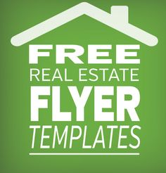 Free Real Estate Flyer Template - Click for great templates you can use today! So easy you can edit them on PowerPoint. #marketing #realtor #realestate