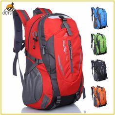 97eaa1b5bccb Quality Rucksack Camping Hiking Backpack Sports Bag Outdoor Travel Backpack  Trekk Mountain Climb Equipment 45L Men