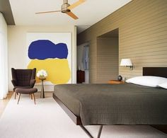 Hate the wall texture?... Cover it with horizontal paneling & paint
