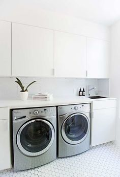 Find out additional details on laundry room storage small shelves. Have a look at our website. Laundry Room Remodel, Laundry Room Organization, Modern Laundry Rooms, Laundry In Bathroom, Ikea Laundry Room Cabinets, Utility Room Designs, Laundry Room Inspiration, Laundry Room Design, Closet Storage