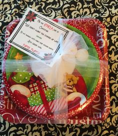 Last week the kids and I started our annual tradition of the  12 Days of Christmas with their school teachers.  {You can download ...