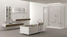 Mobile bagno sospeso design moderno n. 11
