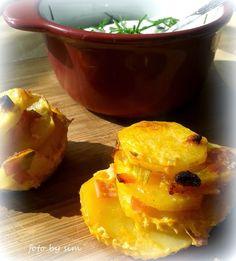Simi´s Sattmacher- Rezepte und mehr.....: Kartoffelmuffins mit Dipp