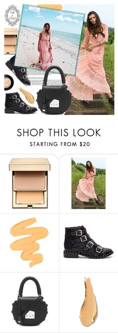 """""""Tulle and Batiste"""" by gaby-mil ❤ liked on Polyvore featuring Clarins, Sigma, Schutz, SALAR and vintage"""