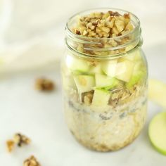 These nutritious oats are like apple pie in a jar ... for breakfast.