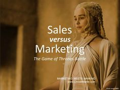 """How to avoid the #Sales vs. #Marketing departments """"Game Of Thrones"""" conflict.   http://www.lincolnmartin.com/blogs/sales-vs-marketing-primal-game-thrones/   #entrepreneur #socent #gameofthrones #GoT #negotiation #management #socialenterprise #benefitcorporation #bcorps #impactinvesting #impinv #branding #advertising #media #socialmedia #touchpoints #directmarketing #communications #pressrelations #PR"""