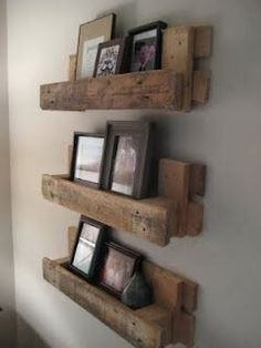 Shelving made from pallets