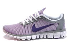 67ff565d84275 womens nike free 3.0 v1 close grid pink white! Only  70.90USD Purple  Sneakers