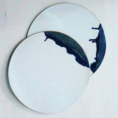 "@love_ceramic on Instagram: ""@Regrann from @puzzleofnature - Platters. . . . #clay #ceramics #pottery #turningearthuk #madebyme…"""