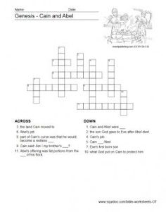 Printables Bible Story Worksheets bible worksheet activities sunday school pinterest worksheets to help children study through the old testament includes crossword puzzles matching and word search puzzles