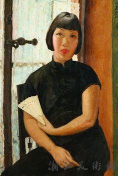 PAN YULIANG http://www.widewalls.ch/artist/pan-yuliang/ #painting