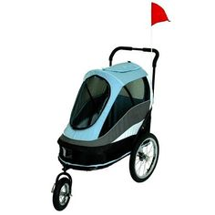 Petzip PZ-S980B Happy Trailer Pet Stroller - Blue -- Read more reviews of the product by visiting the link on the image.