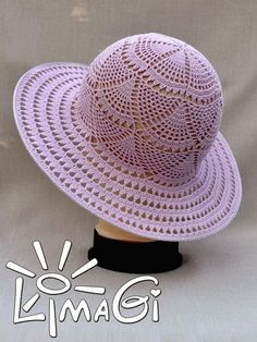 chapeus em croche ile ilgili g Crochet Socks Pattern, Bonnet Crochet, Crochet Stitches Patterns, Crochet Summer Hats, Crochet Hats, Crochet Doilies, Crochet Flowers, Crochet Scarf For Beginners, Sombrero A Crochet