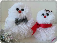 DIY bonhommes de neige