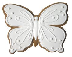 images of butterfly cookies' | WHITE BUTTERFLIES