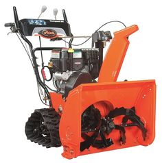 Ariens Compact Track 24 in. Electric Start Gas Snow - The Home Depot Gas Snow Blower, Electric Snow Blower, How Much Snow, Electric Pencil Sharpener, Shoveling Snow, Gravel Driveway, Zero Turn Mowers, Outdoor Power Equipment