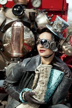 Interview: 'Anatomy Of Steampunk' Author Offers Advice For Steampunk Fashion Beginners [Featured]