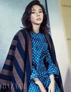 Son Dam Bi Poses for Bazaar Magazine | Koogle TV