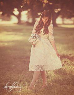Casual wedding dress....yes..keep it simple:-) :-) :-)