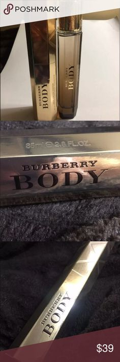 Authentic Limited Edition Burberry Women's Perfume NWT Authentic Burberry Body Gold Limited Edition   Surround yourself with air of luxury and elegance when you dab on a bit of Burberry Body Gold for women. Created by scent designers at the Burberry design house, this intoxicating fragrance will leave you feeling confident and ready to take on the world :)  BRAND: Burberry  FRAGRANCE NAME: BURBERRY BODY GOLD  SIZE: 2.8 FL oz  / 85 ml  CONCENTRATION: Eau de Perfume  FORM: Spray  CONDITION…