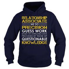 Relationship Associate Job Title Tshirts