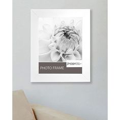 American Made Rayne White Satin Wide Frame (Satin White, picture size is 12 x 18) (Wood)