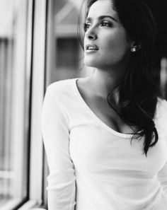 Salma Hayek Fan Art - Salma Hayek Fan Art (35599010) - Fanpop Selma Hayek, Most Beautiful Women, Beautiful People, Francoise Hardy, Actrices Hollywood, Goldie Hawn, Jolie Photo, Black And White Pictures, Black White