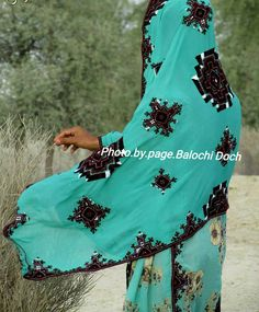 Balochi Dress, Asian Bridal Dresses, Beautiful Moon, Owl, Cover Up, Culture, Embroidery, Traditional, Female