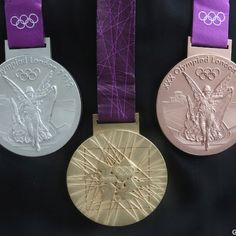 The Medals! 2012 Olympic games
