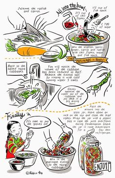 Follow  http://banchancomic.tumblr.com/  for more recipes to come!