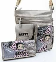betty boop bag set