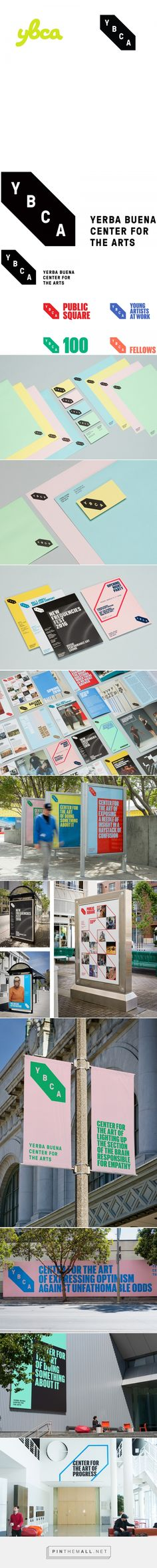 Brand New: New Logo and Identity for Yerba Buena Center for the Arts by Manual - created via https://pinthemall.net
