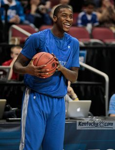 March 14, 2012  Practice at YUM Center  Michael Kidd-Gilchrist
