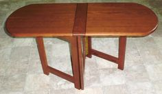 desk for rvs Woodworking Guide, Custom Woodworking, Woodworking Projects Plans, Teds Woodworking, Amish Furniture, Furniture Plans, Wood Folding Table, Space Saving Table, Desks For Small Spaces