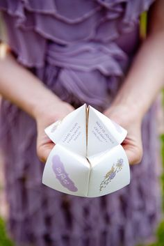 super cute for favors or maybe just as a decoration/game on the table. I use to make these things like crazy!!