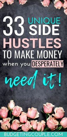Want to make money by the weekend? Check out these simple (and unique) side hustle ideas and money making ideas to make money today! These easy money making tips are perfect for busy people who want to make money fast! Make Cash Fast, Earn Money Fast, Make Money Today, Make Easy Money, Quick Money, Ways To Earn Money, Earn Money From Home, Make Money Blogging, Money Tips