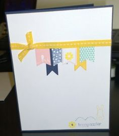 Hoppy Easter | Thinking of Ewe at Easter - www.StampinErin.com #stampinup #easter #cardmaking #crafty #diy