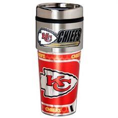 Kansas City Chiefs Travel Coffee Tumbler