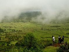 View from Morjai plateau, Palsambe, Kolhapur,Maharashtra