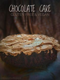 Delicious Cake Recipes, Dessert Recipes, Dessert Ideas, Fun Cupcakes, Cupcake Cakes, Chef Recipes, Vegan Recipes, Fall Desserts, Vegan Desserts