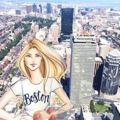 Fashion lllustrator- Boston © Holly Nichols info@hnicholsillustration.com : hnillustration Shop my Art