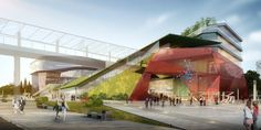 Competition entry: Entry for the Kid Theatre of the Dongguan Community Center