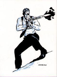 Chris Samnee - Nick Fury