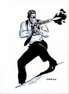 Colonel Nick Fury by Derrick Robertson from Marvel Comics