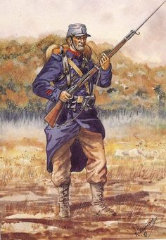 Garibaldini - Volontari in Francia