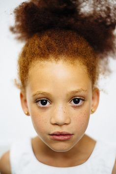Photographer Documents The Beautiful Diversity Of Redhead People Of Color | Photographer Michelle Marshall