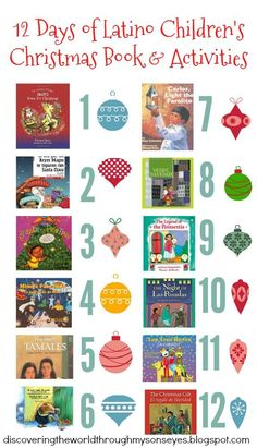 Discovering the World Through My Son's Eyes : 12 Days of Latino Children's Christmas Books and Activities