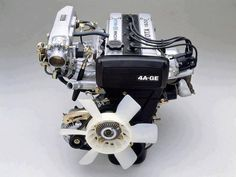 It was among the first DOHC engines offered to the public outside of exclusive marks like Lotus. Jdm Engines, Crate Engines, Corolla Twincam, Corolla Wagon, Toyota Tercel, Toyota Supra, Car Ecu, Toyota Corona, Crate Motors